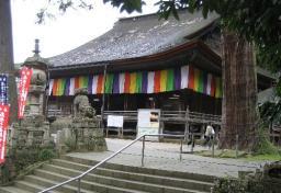 安来の名刹・清水寺本堂(今月19日撮影)
