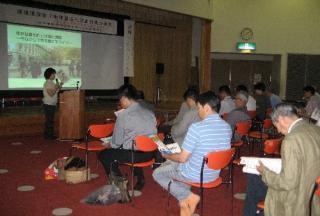 環境フェアでの講演会