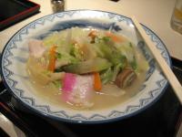 閉会総会後食した長崎チャンポン