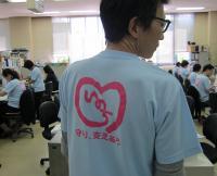 自殺予防の啓発Tシャツ